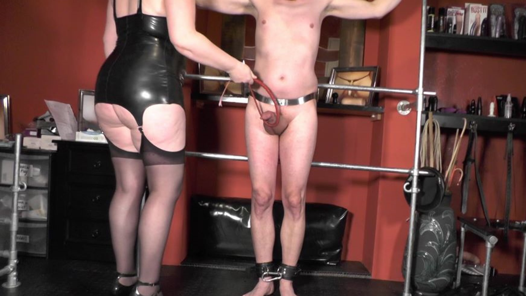 Cock Whipping Punishment